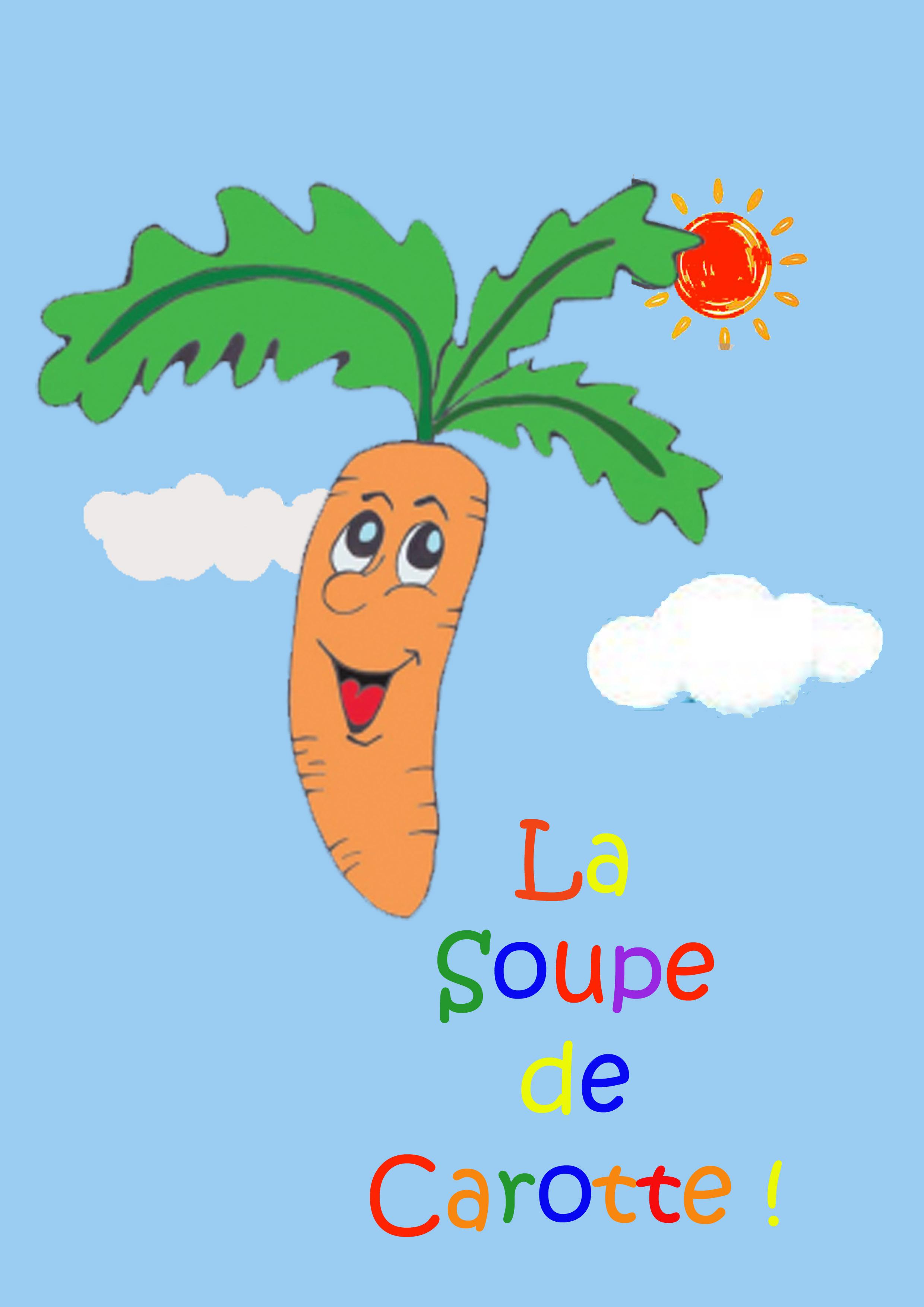Affiche La soupe de Carotte !